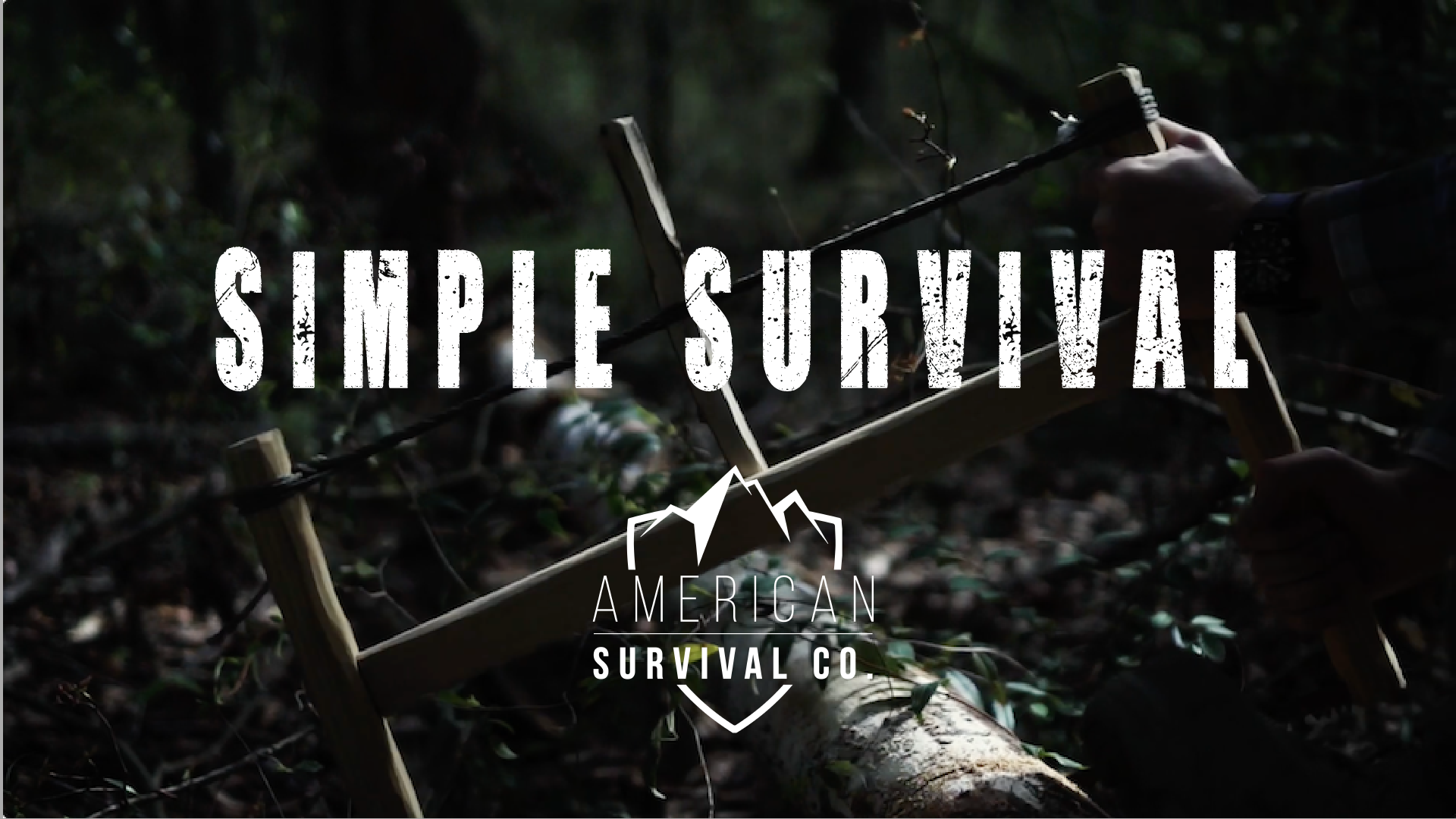 Simple Survival Skills, Primitive Skills