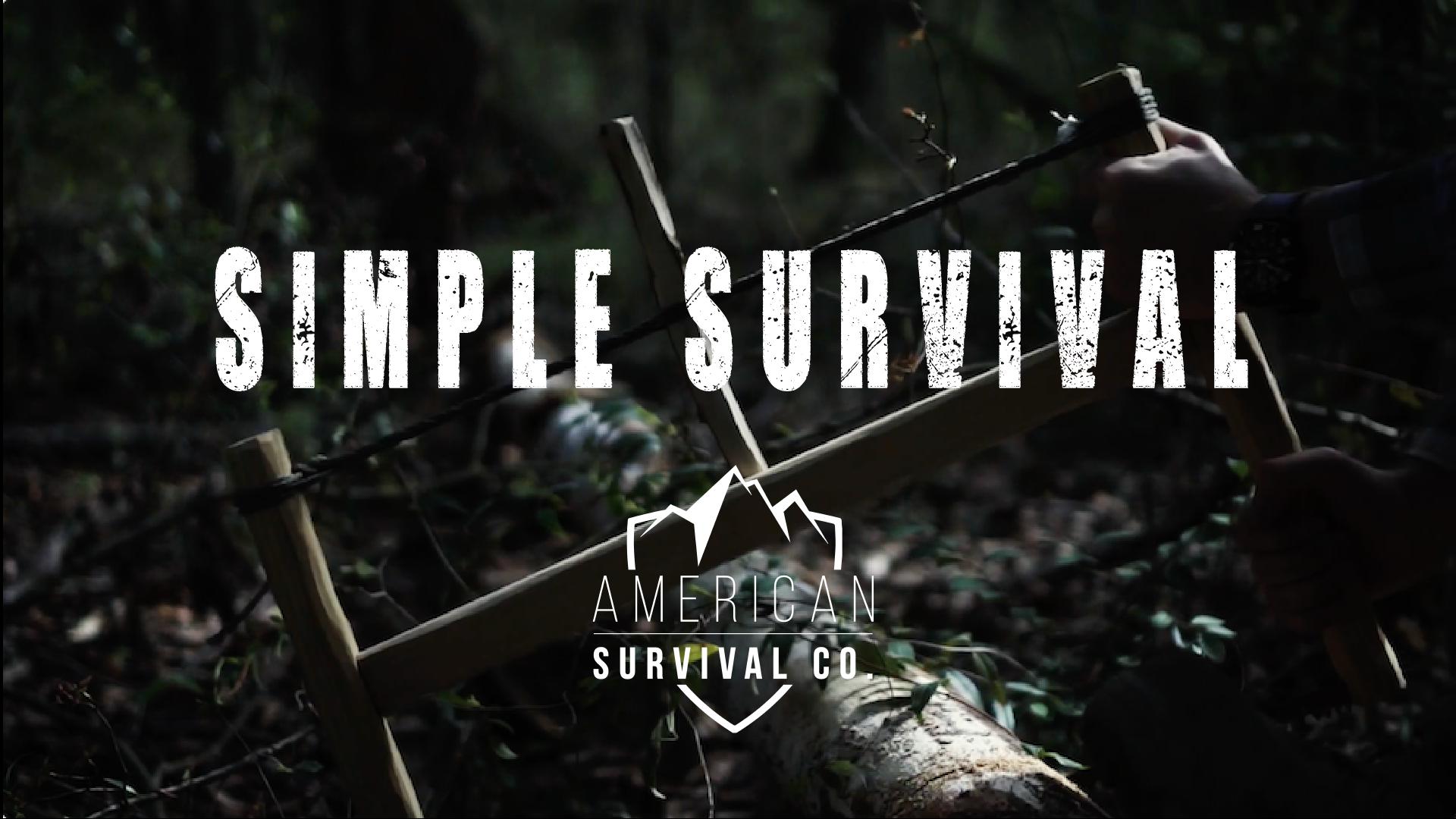 Simple Survival Skills, Primitive Skills