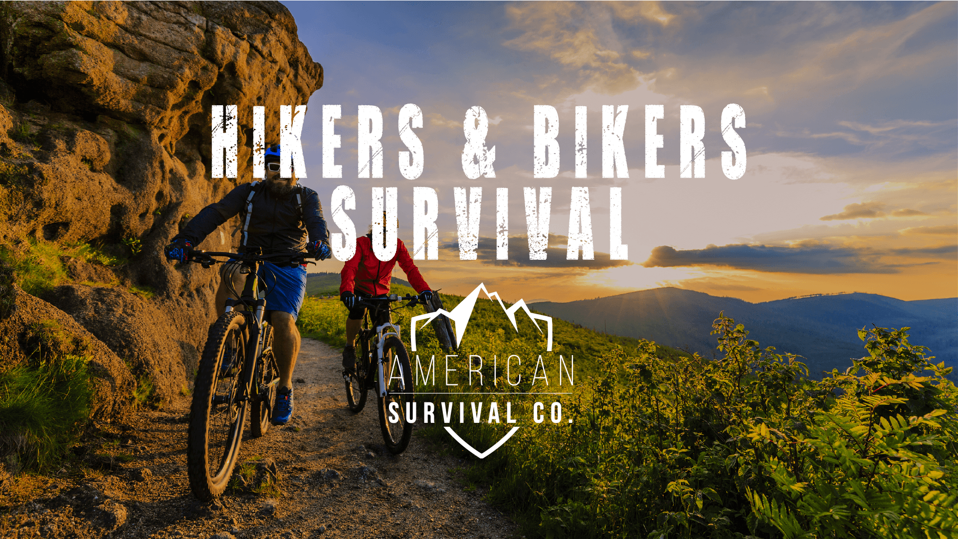 hiking biking wilderness survival class